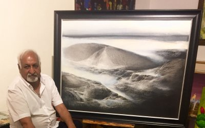 Creativity Art Gallery Present Mindscape Solo Show of Paintings By Vinod Sharma