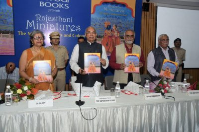 Launch of Rajasthani Miniatures: The Magic of Strokes and Colours