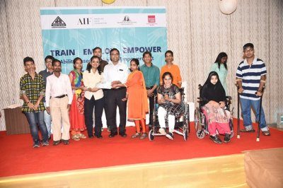 107 Youth with Disabilities successfully complete training under AIFs Ability Based Livelihood Empowerment (ABLE) program
