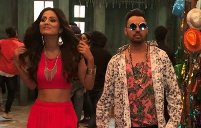 "Sonu Thukral  Hina Khan will dazzle together in upcoming music video ""Bhasoodi"""