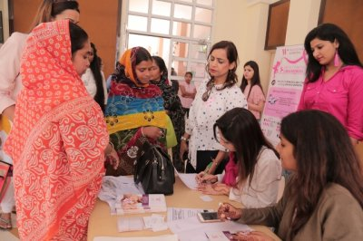 GLAMOUR GURGAON RAISED AWARENESS ABOUT BREAST CANCER AMONG UNDERPRIVILEGED