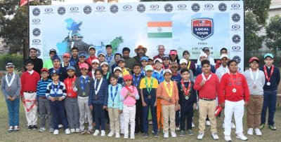 Arshvant Srivastava continues winning run, bags 3rd title in his category -US Kids Golf India Tour