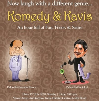 Komedy  Kavis: an hour full of fun, laughter, poetry  satire!