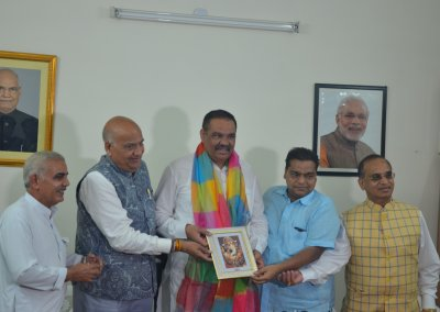 Vijay Sampla-Union Minister of State is all set to play Himavan in LuvKush Ramleela this Year!