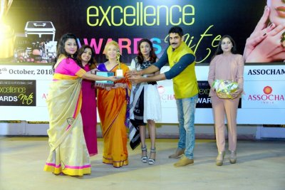 BEAUNESS BY ARPITA AWARDED START-UP OF THE YEAR BY ASSOCHAM