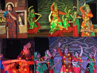Maha Raas dance and drama of Vrindaban