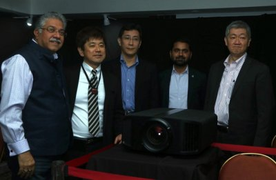 Worlds first 8K home theater projector launched by KEI in a venture with JVC