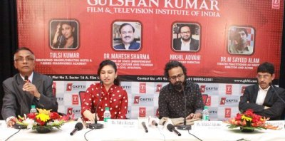 "The much awaited dream project ""Gulshan Kumar Film  Television Institute of India"" is finally launched in Noida!"