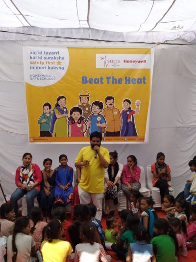 Honeywell Safe Schools Program organizes Beat the Heat awareness drive in East Delhi