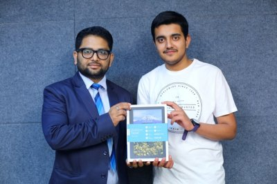 Small City Boy Dreams Big  Bags AIR 110 with Aakash Digital